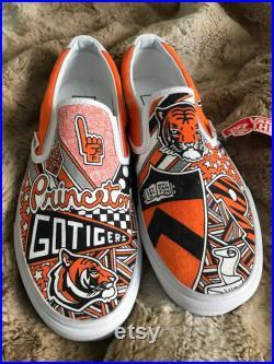 Princeton University Custom Sneakers