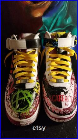 SilverStreetz X Air Force 1 Basketball Kicks Rolling The Rock Hypebeast Basketball Shoes