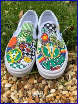 Sleepaway Camp Vega slip on Vans sneakers