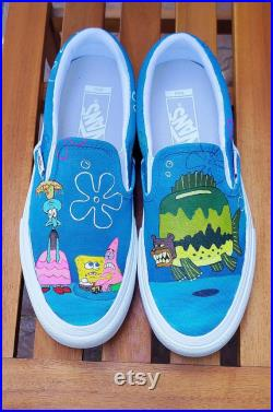 Spongebob Sea Bear Shoes Customizable