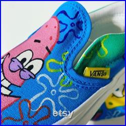 Spongebob and Patrick Vans