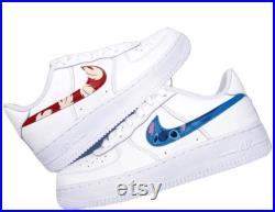 Stitch inspired Air Force 1