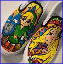 The Legend of Zelda Custom Vans