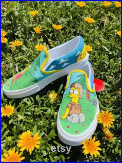 The simpsons shoes