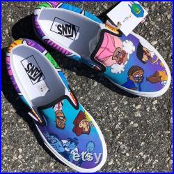 Vans Slip-On Custom 1 of 1 Cartoon Request