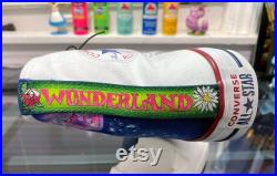 Wonderland painted shoes