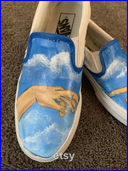 customizable hand painted vans